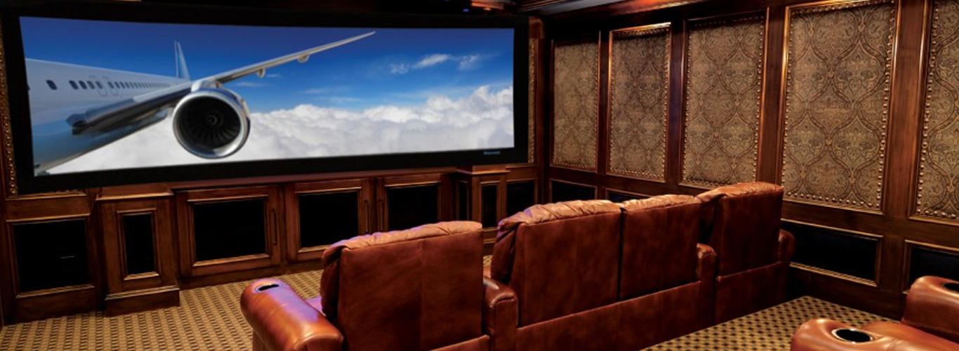 Home Theater Interior Designing