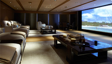home theater interior systems