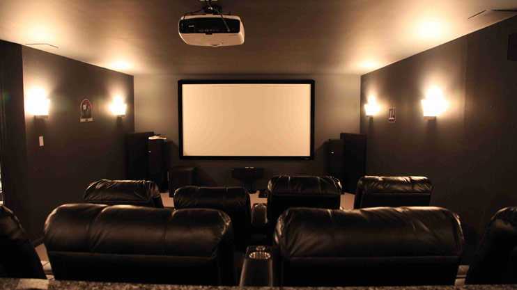 Acoustical Solutions For Home Theater : Home theater dubai cinema movie interior