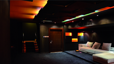 home theater Interior installation
